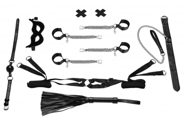 LUX FETISH Bedspreaders Bondage Play (6pc)