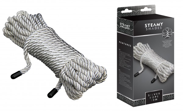 STEAMY SHADES Silver Rope