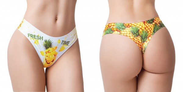 Memème FRESH SUMMER PINEAPPLE Thong M