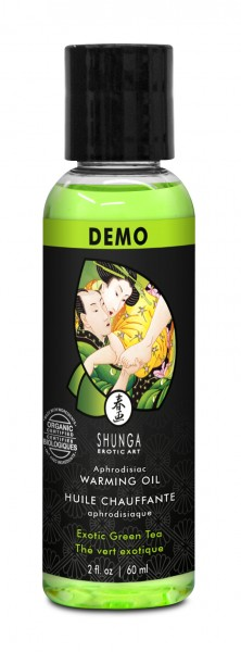 SHUNGA Intimate Kisses Öl Organica Green Tea 60ml TESTER